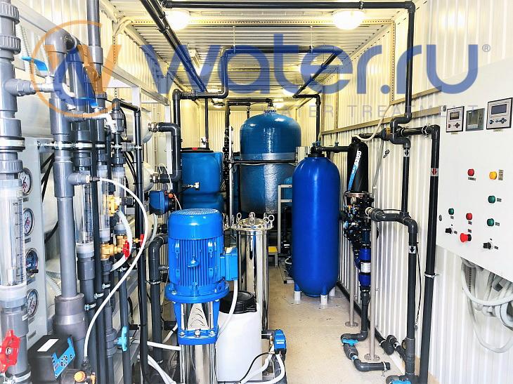 шкаф управления комплексной системой водоподготовки